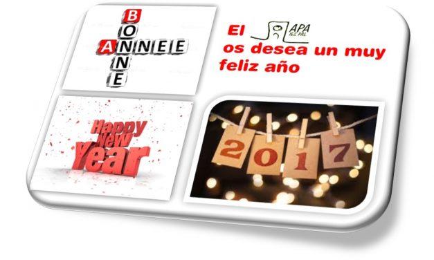 Bonne Année – Feliz Año Nuevo – Happy New Year