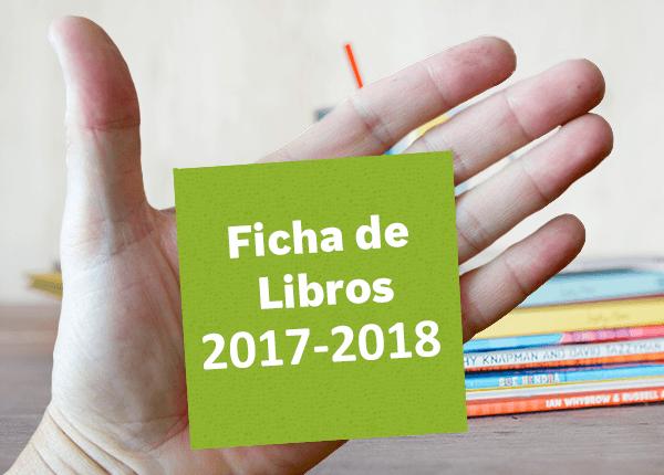 FICHA DE LIBROS