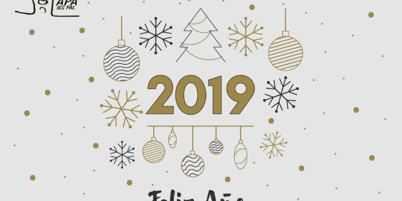 Os deseamos Felices fiestas y muy buen 2019!