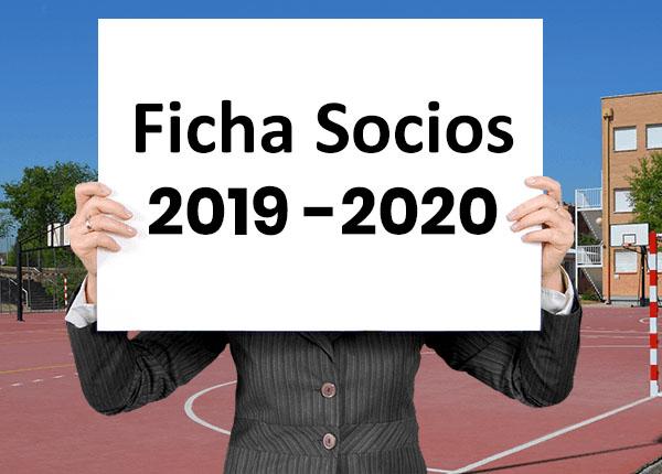 FICHA DE SOCIOS